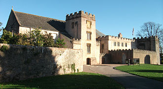 Torre Abbey - Torre Abbey, side entrance