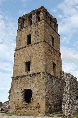 Panamá Viejo - Image: Torre de panama viejo
