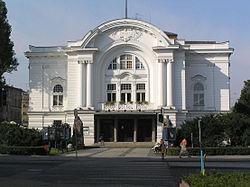 Torun Teatr im Wilama Horzycy fasada