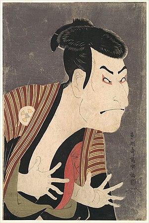 Otani Oniji by Toshusai Sharaku, Edo era, Japan
