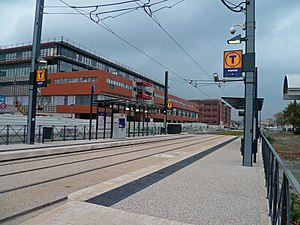 Toulouse Metro - Line T1 of the tram system of Toulouse, Purpan station
