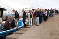 Tourists boarding a boat to the Farne Islands - geograph.org.uk - 1378022.jpg