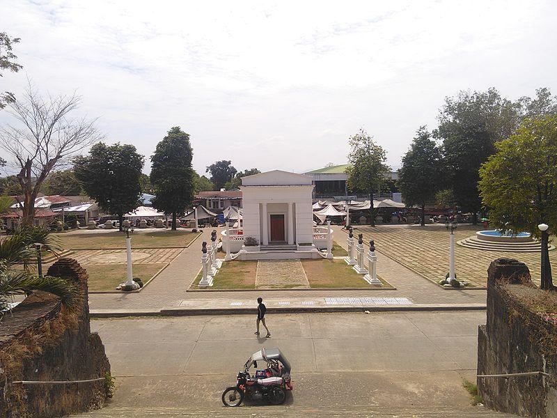 File:Town Plaza of Piddig, Ilocos Norte.jpg