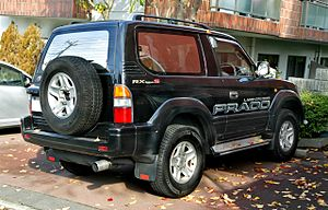 Toyota Land Cruiser Prado - 1996–1999 Toyota Land Cruiser Prado 2 Door 2.7 RX Type S (RZJ90W, Japan)