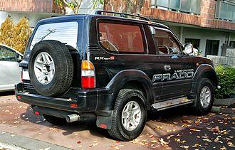 Toyota Land Cruiser Prado - 1996–1999 Toyota Land Cruiser Prado 2 Door 2.7 RX Type S (RZJ90W, Japan)