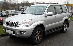 Toyota Land Cruiser Prado 2002