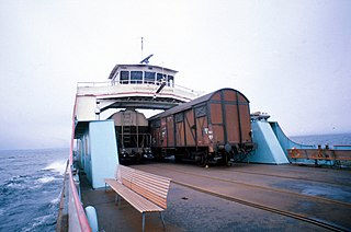 Lake Constance train ferries