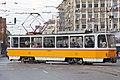Tram in Sofia near Macedonia place 2012 PD 056.jpg
