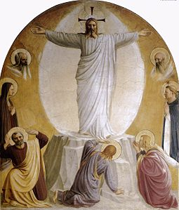 Transfiguration by fra Angelico (San Marco Cell 6).jpg