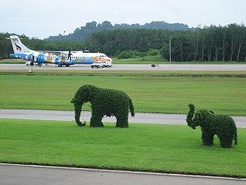 Trat Airport in Thailand.jpg