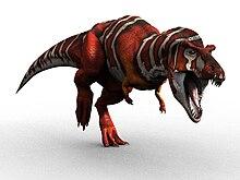 Динозавры и Мир Юрского Периода №2 – Папа-Тираннозавр + Мамонтёнок