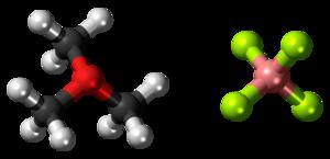 Trimethyloxonium tetrafluoroborate - Image: Trimethyloxonium tetrafluoroborate 3D ball