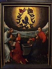 Triptyque de l'Assomption de la Vierge