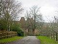 Trottenden Oast, Lidwells Lane, Goudhurst, Kent - geograph.org.uk - 582107.jpg