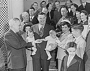 Truman and Justice Chambers family