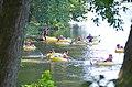 Tubing James River State Park group of kids (31570781746).jpg