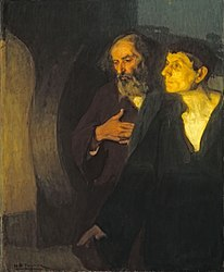 Henry Ossawa Tanner: Two Disciples at the Tomb