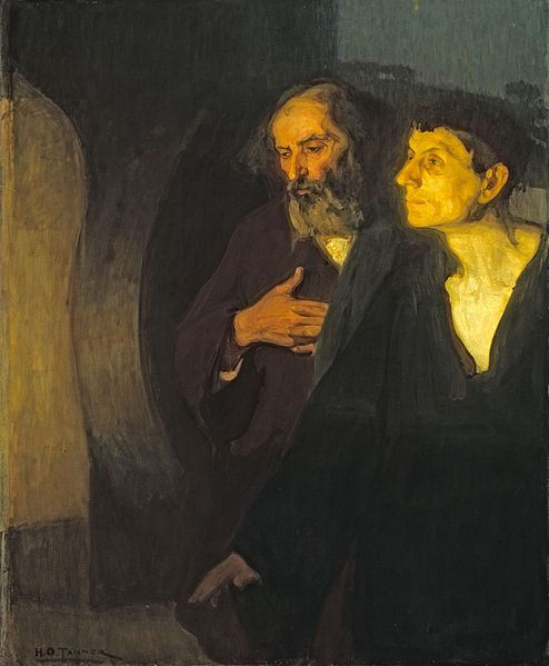 File:Two Disciples at the Tomb c1906 Henry Ossawa Tanner.jpg