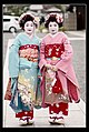 Two tourists dressed as Maikos at Kyoto.jpg