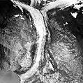 Tyeen Glacier, tidewater glacier terminus and icefall, September 17, 1966 (GLACIERS 5920).jpg
