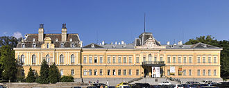 National Art Gallery (Bulgaria) - The National Art Gallery edifice, the former royal palace of Bulgaria