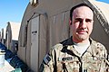 U.S. Army Capt. Kyle D. Newman, with the Utah Army National Guard, poses for a photo at Camp Marmal, Afghanistan, Jan. 11, 2014 140111-N-XQ805-003.jpg