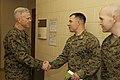 U.S. Marine Corps Gen. James F. Amos, left, the commandant of the Marine Corps, visits Marines at The Basic School at Marine Corps Base Quantico, Va., March 4, 2013 130304-M-LU710-007.jpg