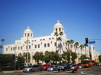 United States Postal Service - USPS Terminal Annex building in Los Angeles