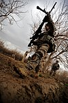 U.S. and Coalition Forces Mentor Afghan National Army in Dismount Patrol DVIDS251819.jpg