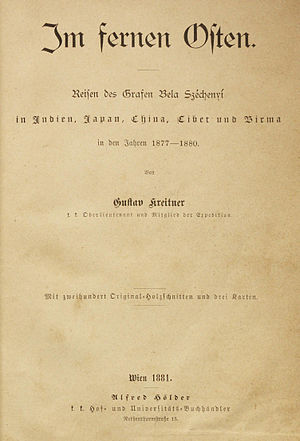 Mount Gongga - Image: UB Maastricht Kreitner 1881 title page