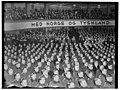 UI 198Fo30141702130015 Nasjonal Samling. Mønstringsmøte i Colosseum. Quisling og Axmann tilstede. 1941-02-01 (NTBs krigsarkiv, Riksarkivet).jpg