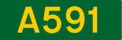 A591 road shield