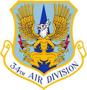 Custer Air Force Station - Emblem of the 34th Air Division