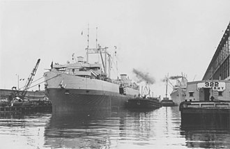 Seatrain Lines - The USAT Seatrain Texas during World War II