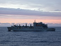 USNS Wiliam McLean (T-AKE-12) underway in 2013.JPG