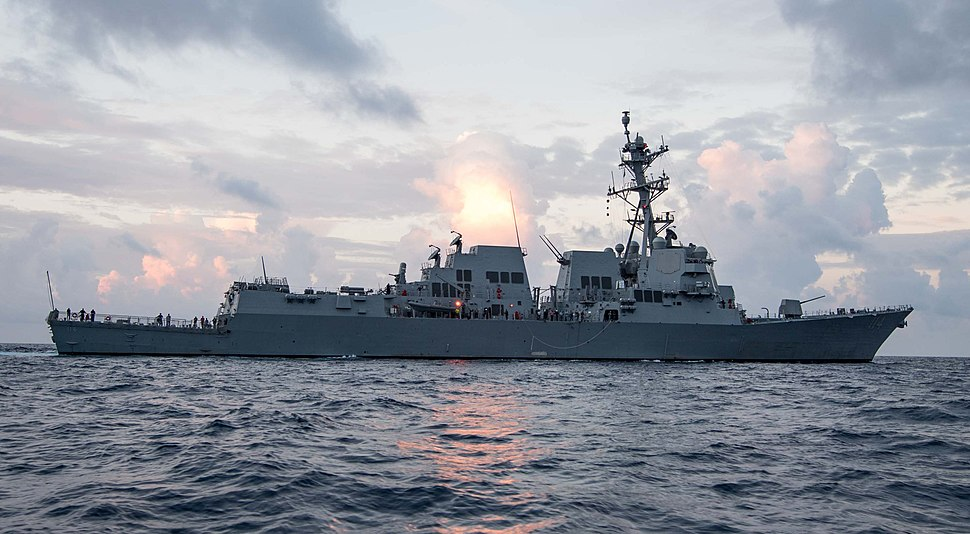 USS Ralph Johnson (DDG-114) during builder's sea trials in the Gulf of Mexico US Navy 170727-N-N0101-001