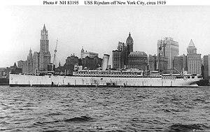 USS Rijndam (ID-2505) - Image: USS Rijndam (ID 2505)