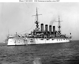 USS Tennessee (ACR-10) - Image: USS Tennessee (ACR 10)