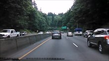 File:US 26 (OR) between Sylvan and Vista Ridge Tunnels.webm