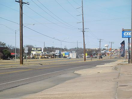 US 77 in Ardmore, north of SH-199 US 77 in Ardmore OK.jpg