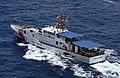 US Coast Guard Cutter Joseph Tezanos, during her sea trials, 2016 07 19..jpg