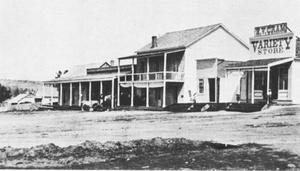 Crawley P. Dake - The U.S. Marshal's Office on North Cortez Street in Prescott, Arizona Territory, in May 1877.