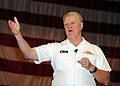 US Navy 080724-N-3165S-034 Chief of Naval Operations (CNO) Adm. Gary Roughead speaks with Sailors during an all-hands call at Naval Station Norfolk.jpg
