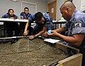US Navy 100615-N-9643W-215 Members of the Nicaraguan military prepare a 3D-model terrain during a subject matter expert exchange.jpg