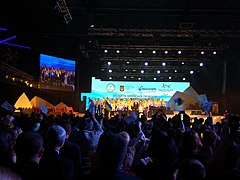 Ukraine national Paralympic team accompanying ceremony to 2018 Winter Paralympic Games 15.jpg