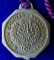Ullr the Guardian Patron Saint of Skiers Lead Medal ND (early 20th Century) Germany, reverse.jpg