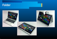 Ultrabook folder design