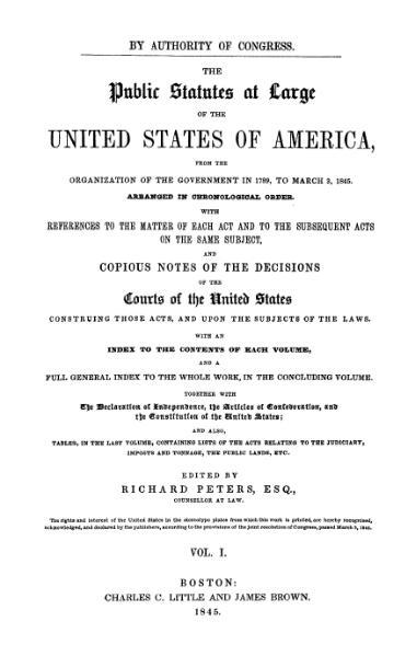 File:United States Statutes at Large Volume 1.djvu