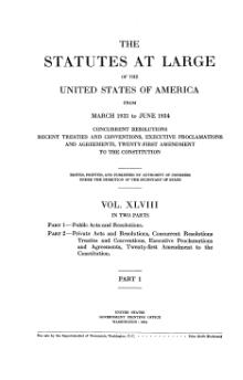 United States Statutes at Large Volume 48 Part 1.djvu