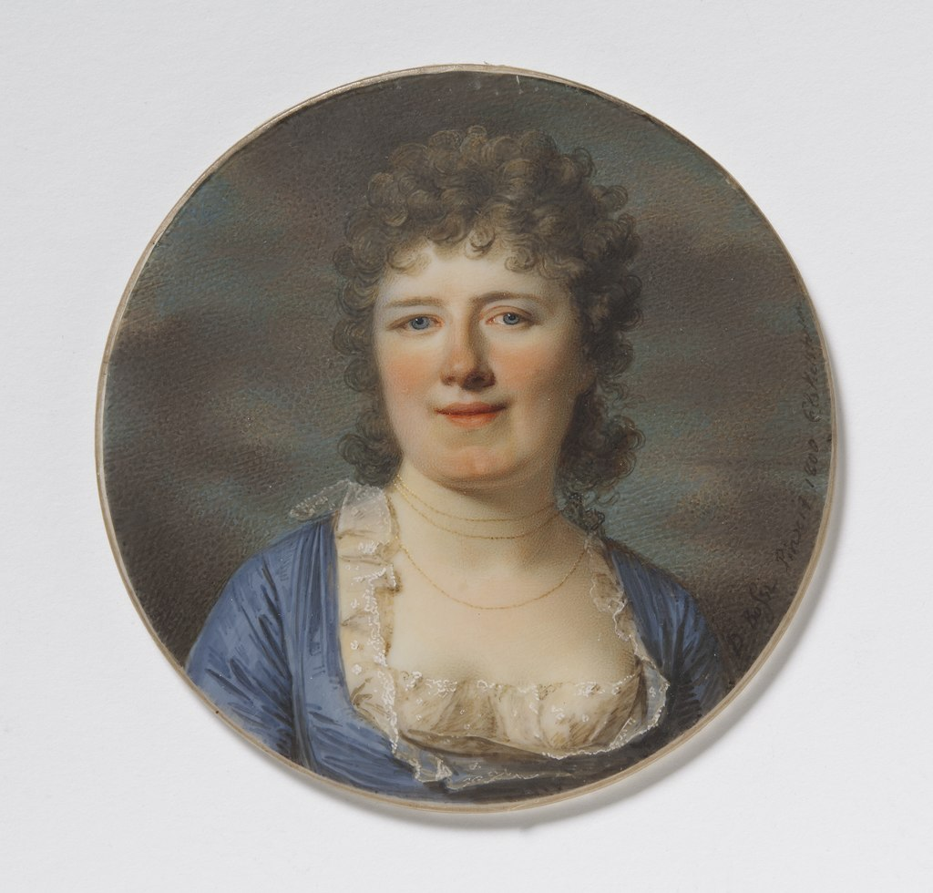 Unknown woman (Giovanni Domenico Bossi) - Nationalmuseum - 25161.tif